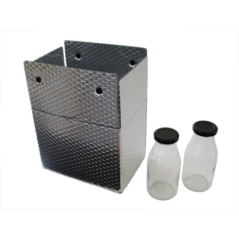 Caisse isotherme à bouteilles 250ml